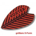 Dartfly Vortex, Form X (größere Form), rot