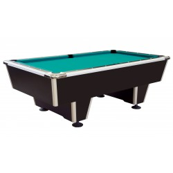 Billardtisch ORLANDO, der sehr robuste Tisch, besonders für Schulen, Jugendheimen und Sportstätten