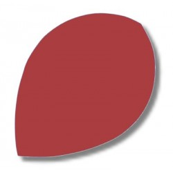 Dartfly Nylon Pear, rot