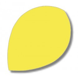 Dartfly Nylon Pear, neongelb