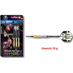 "Softdart Winmau ""SIMON WHITLOCK, GOLD PLATED "" 18gr"
