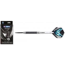 Winmau Black Diamond Steeldart 1077 22 g und 24 g