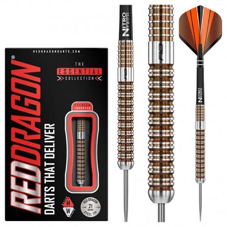 VIRAGE Steeldarts 21g oder 23g, 90% Tungsten - REDDRAGON