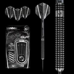 Winmau Blackout Steeldart 1083, 90% Tungsten, 22 g oder 24 g